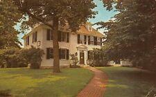 Buckman Tavern Lexington MA Vintage Historama Postcard Unposted