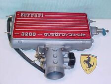 Ferrari 308 Engine Intake Manifold Plenum_Throttle Body_Quattrovalvole_120596_OE