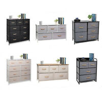 Cerbior 4/5/9 Drawer Chest of Storage Drawer Dresser Furniture Bedroom Organizer