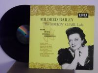 "Mildred Bailey,Decca/MCA,""The Rockin' Chair Lady"",Japan,LP,mono,jazz/blues vocal"