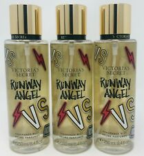 3 Victoria's Secret Fragrance Perfume Mist For Women Runway Angel 8.4 oz