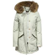 F9176 parka donna WOOLRICH ARTIC PARKA light grey - ice jacket woman