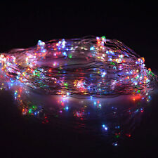 30 LED-Lichterkette,Micro Drahtlichterkette Lichter Draht Neu mehrfarbig