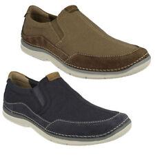Zapatos informales de hombre mocasines de lona
