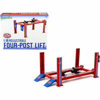 FOUR POST LIFT STP 1:18 METAL IDEAL FOR DISPLAY OR DIORAMA 1:18 SCALE BRAND NEW