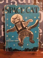 "Scarce Ruthven Todd 1952 Children's Book ""Space Cat"" VG"