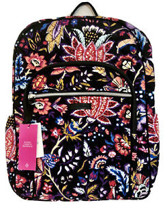 Vera Bradley Iconic Campus Backpack in Foxwood