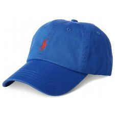 Ralph Lauren Mens Classic Cotton Baseball Cap Hat - One Size