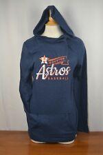 Brand New Majestic Houston Astros MLB Women's Hooded Sweatshirt - Size Medium