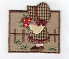 Country Girl fer sur applique écusson patch, BRAND NEW