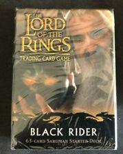 Saruman 63 Card Starter Deck, Black Rider (Lord of the Rings TCG)