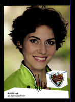Katrin Lux Dahoam is Dahoam Autogrammkarte Original Signiert # BC 65564