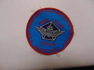 MILITARY PATCH SEW ON V CORPS AVIATION SAFETY AND STANDARDIZATION DET EUROPE US