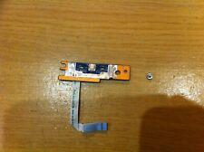 Dell Inspiron 7520 P25F Power Button Board LS-8245P A12402 w/ Cable Tape