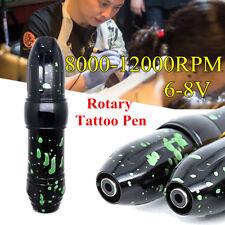 6-8V 8000-12000RPM Rotary Tattoo Pen Cartridge Machine Professional Supply
