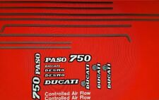 DUCATI 750 PASO DECAL KIT