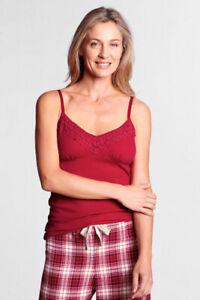 Lands' End ~ Empire Waist Lace Camisole Women's Size X-Large Petite $30 NIP