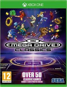 SEGA Mega Drive Classics microsoft Xbox One NEW sealed retro game