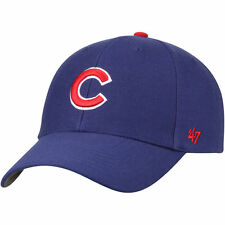 Chicago Cubs 47 Brand MVP Clean Up Adjustable Field Classic Blue Hat Cap MLB