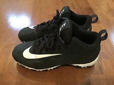 Nice Girls Nike Black Alpha Cleats Size 5.5Y