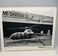 Vintage Collection McDonnell Aircraft Corporation 13 Prints B&W