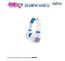 Hatsune Miku & SNOW MIKU image headphone TAITO Anime JAPAN 2019