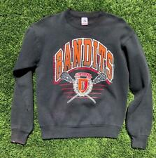 Rare VTG 90s Black FOTL 1993 Buffalo Bandits Lacrosse Crewneck Sweat Shirt M