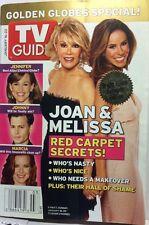 TV Guide January 16-22, 2005-Joan & Melissa Rivers Cover, Golden Globes
