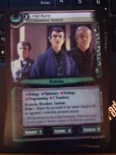 Star Trek CCG 2E Premiere 1R372 Tal'Aura Impatient Senator NrMint-Mint