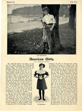 American Girls Frauen-Sport-Outfits Golf Badeanzug Lacrosse Football Fechten1902