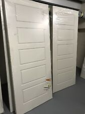 Internal white Premdor 5 Panel Smooth Moulded FD30 Fire Door Rated 1981mm x838mm