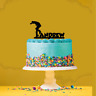 Personalised Name Acrylic Cake Topper Skateboard Theme
