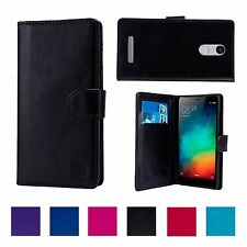 32nd Book Wallet PU Leather Case Cover Xiaomi Redmi Note 3 + Screen Protector