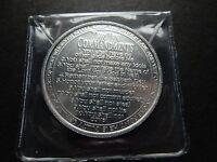 Religious Medallion - Ten Commandments & Verse - needgod.com Aluminium 39mm CASE