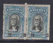 Liberia # 178 MINT Pair Extra Quads & UPRIGHT QUAD President Gibson