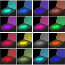 Automatisch 16 Farben WC LED Toilettensitz Nachtlichter Motion Sensor Licht 2018