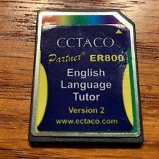 Ectaco Partner Er800 English Language Tutor Version 2 Sd Card