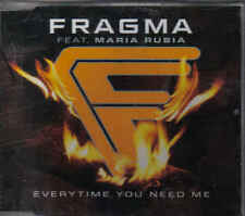 Fragma- Everytime You Need Me cd maxi single