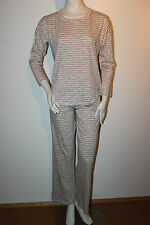 "Triumph Pyjama ""BeeDees Soft Heart 153 PK1"" Loungewear Gr.38 beige gestreift"