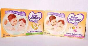BABY SOAP- Baby Cheramy Floral & Herbal Milk Soap Moisturising 100g Sri Lanka