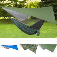 EE_ Waterproof Large Lightweight Camping Tent Tarp Shelter Hammock Rain Fly Cove