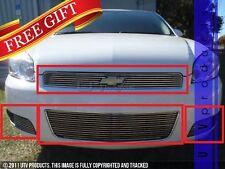 GTG 2006 - 2013 Chevy Impala SS / LT 4PC Polished Overlay Billet Grille Kit
