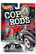 2000 Hot Wheels Cop Rods Jefferson City, MO 3-Window '34