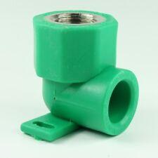 10 x PPR Aqua-Plus Wandanschlusswinkel 20mm mit 1/2 Zoll Anschluss, Fusiotherm