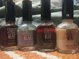 Revlon Street Wear Nail Polish discontinued Lot of Colors!!