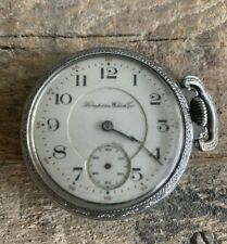 VINTAGE Hampden WATCH CO. 17 JEWELS  POCKET WATCH FREE SHIPPING