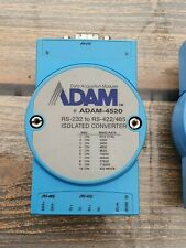 Lot of 2 Adam-4520 RS-232 to RS-422/RS-485 Isolated Converter