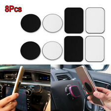 8*Metal Plate Sticker Replace For Magnetic Car Mount Magnet Cell Phone Holder z