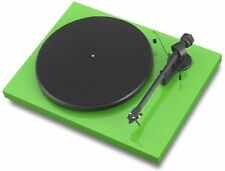 PRO-JECT DEBUT CARBON DC RECORD PLAYER NEEDLE ORTOFON OM-10 GREEN GREEN OFFER
