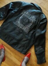 Harley-Davidson men's Willie G Rockhound Skull leather jacket size large